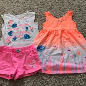"Jumping Beans ""Finding Dory"" Outfits"